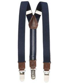 Nautica Boys' Navy Blue Suspenders--Ring Bearers/Flower Boys