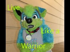 "Starrik - ""Live Like a Warrior"" Fursuit, Live, Twitter, Fictional Characters, Fantasy Characters"