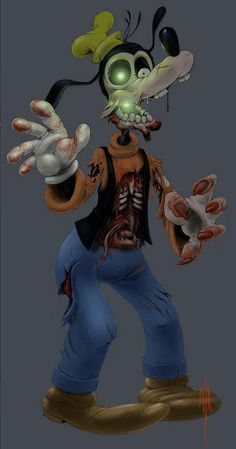 Dead Goofy i do not like my loving goofy as a zombie