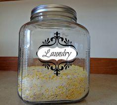 DIY: Home made Laundry Soap