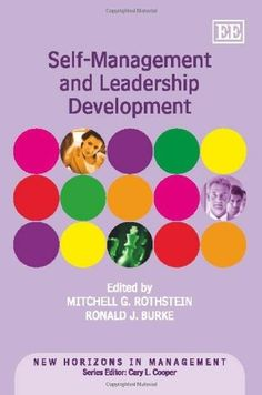 Self-Management and Leadership Development (New Horizons in Management) $185.40 self-development-books