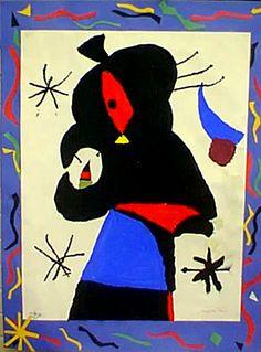 juan miro images | Juan Miro Kandinsky, Klimt, Matisse, Miro Artist, Spanish Painters, Modern Masters, Sculptures, Tapestry, Painting