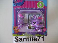 Littlest Pet Shop Favorite Pets Mommy #3591 & Baby #3592 Bunny Rabbit  A6265 New