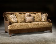 High End Upholstered Furniture, Couch