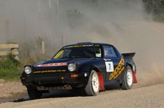 GPB RX7 Rally car in New Zealand 13B PP