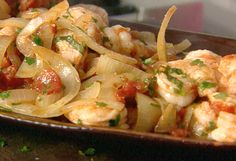 """SHRIMP FRA DIAVOLO RECIPE: ~ From: """"Food Network.Com"""". ~ Recipe Courtesy Of: """"GIADA De LAURENTIIS"""" (Everyday Italian; Quick Italian Dishes) ~ Prep.Time: 15 min; Cooking Time: 18 min; Total Time: 33 min; Level: Easy; Yield: (4 servings)."""
