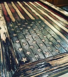 Another coffee table heading out west today! This one is the Old Glory Edition with those sweet carved stars!  http://ift.tt/1Nxsn1y  #patriotic #americana #sickguns #conservative #thinredline #firefighter #fdny #emt #nypd #lapd #thinblueline #murica #military #brothersinarms #usaf #airforce #army #marines #grunt #ranger #veterans #specops #thinredandblueline #thingoldline #pro2a #firearms