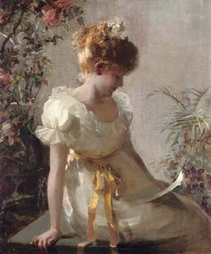 Jessie E. Gorst, The Love Letter, (1889-99)