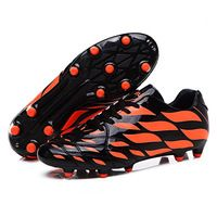 New Men's Kids Soccer Shoes FG Outdoor Soccer Cleats Football Boots Trainers EU…