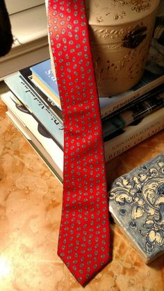 Check out this item in my Etsy shop https://www.etsy.com/listing/257687352/vintage-yves-saint-laurent-neckwear-red