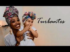 Amarrações com turbante para mãe e filha- Blenda Leite e Sophie
