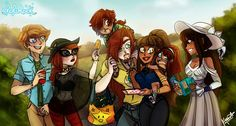 LoliRock - A royal family outing!  #talisto #Zaxina #Talia #Mephisto #zackbrady #Anastasia #Damien #Izira #roku #talesofephedia