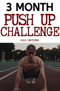 90 Day push up challenge for all men to get fitter and stronger! Push ups should be part of every man's daily routine. try out this push up challenge and get stronger! helalth 3 Month Push Up Challenge: Become A Strong Man In No Time Fitness Herausforderungen, Fitness Tips For Men, Physical Fitness, Fitness Motivation, Fitness Journal, Push Up Challenge, Workout Challenge, Push Up Workout, Workout Circuit
