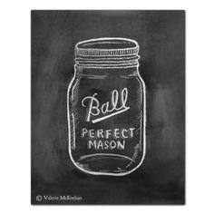 Be Full Of Joy - Mason Jar Art - 11 x 14 Print - Chalkboard Art - Chalk Art - . - Chalk Art İdeas in 2019 Blackboard Art, Chalkboard Print, Chalkboard Lettering, Chalkboard Designs, Chalkboard Ideas, Chalkboard Scripture, Chalkboard Quotes, Chalk It Up, Chalk Art