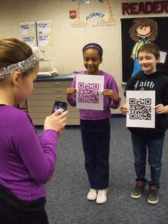 Recording verbal directions for stations so kids can be reminded without asking. Technology | Using QR Codes in the Classroom