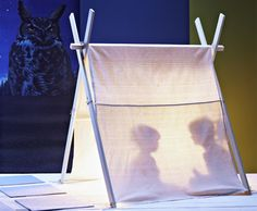 The Pup Tent  An ideal space for filling the evening with good stories and shadow puppet shows.   Find out more atReady Made.