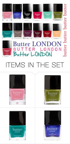 """Butter London"" by tjedge ❤ liked on Polyvore featuring art"