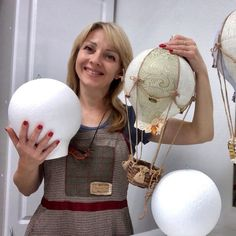 Diy Hot Air Balloons, Plastic Balloons, Travel Theme Nursery, Nursery Themes, Nursery Decor, Bedroom Decor, Diy Kits For Adults, Ballon Decorations, Baby Mobile