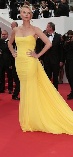 Charlize Theron at the #Cannes Film Festival