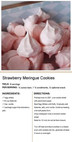 Starred shortbread with spices - HQ Recipes Low Calorie Desserts, Gluten Free Desserts, Delicious Desserts, Strawberry Meringue, Strawberry Cookies, Meringue Cookie Recipe, Macaron Recipe, Keto Cookies, Cupcake Cookies