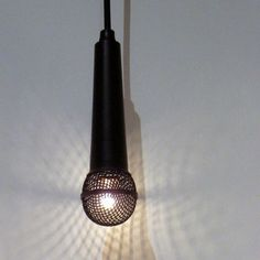 Are these not the coolest lights for a music lover or urban apt?