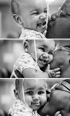 #father #daughter #love #kiss #photoshoot #photography #amour #blackandwhite #noire #blanc #cuteface #smile