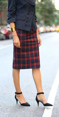 The Classy Cubicle: Tactful Tartan. The fashion blog for professional women in…