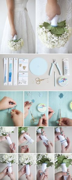 DIY | Wedding Bouquet Charm Bracelets