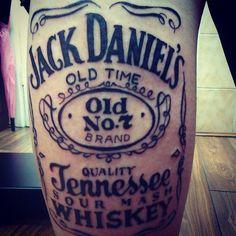 """""""#tattoo #jack #daniels"""" @madprof666"""