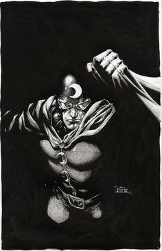 Dr. Midnight by Philip Tan  Comic Art