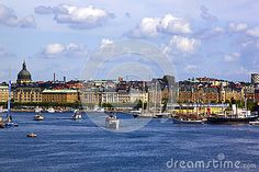Djurgarden Island, island in central Stockholm, which is home to historical buildings and monuments, museums.