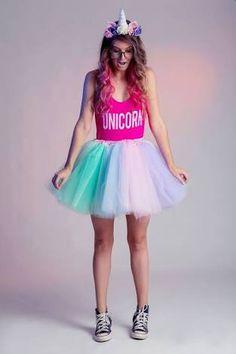 dreamy unicorn costume. halloween.