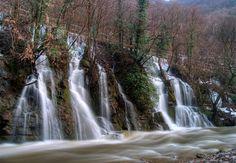 Mini waterfalls at Banjica, Uzice 10 minutes walking distance from Eco Hostel Republik.