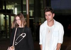 Zac Efron was in good - and familiar - company at Disneyland on Tuesday.  While Mickey Mouse and the gang are always fun, the actor was seen holding hands with ex-girlfriend Lily Collins, 24.