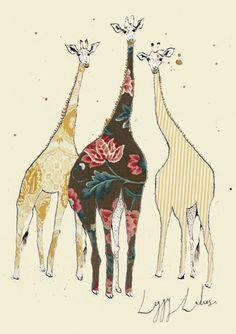 'Leggy Ladies' by Anna Wright (aw9)