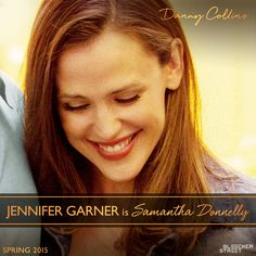 """[The movie] gets to the heart of what makes us all love one another and why it is so complicated to love someone else.""  Jennifer Garner is DANNY COLLINS' daughter-in-law, Samantha, in #DannyCollinsMovie. #BleeckerSt"