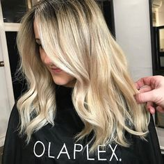 Gorgeous pearl blonde tones from @tyson.mendes.hair from @telleish_hair_studio - with Olaplex used to ensure their client's hair remains smooth, soft and free of breakage.  #olaplexau #theoneandonly #blondehair #creamyblonde #olaplexblondes #hairinspo #jointherevolution #olaplex #haircareaust #regram