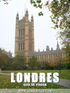 LONDRES Inglaterra: Guia de roteiros, Dicas de viagem, O que visitar, Monumentos, Alojamento, Transportes, Mapas, Fotos Londres cidade.