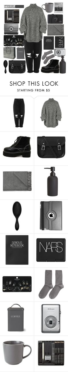"""◾"" by liberian ❤ liked on Polyvore featuring Boutique, Michael Kors, WithChic, Gucci, The Cambridge Satchel Company, Acne Studios, CB2, Sephora Collection, Natico and Topshop"
