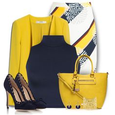 Designer Clothes, Shoes & Bags for Women Cute Office Outfits, Hot Outfits, Classy Outfits, Fashion Outfits, Womens Fashion, Work Fashion, Modest Fashion, Polyvore Outfits, Polyvore Fashion