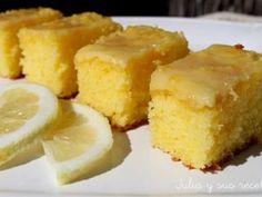 Brownies de limon