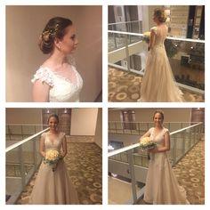 #elegant #beautiful #wedding #hairstyle #hair #collected