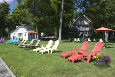 Birch Bend Resort on a sunny afternoon Outdoor Chairs, Outdoor Furniture, Outdoor Decor, Sunny Afternoon, Birch, Home Decor, Homemade Home Decor, Garden Chairs, Decoration Home