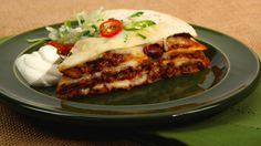 Burrito Stack - Recipes - Best Recipes Ever - Try this warming meal with creamy sliced avocado on the side.