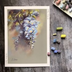 """3,186 Likes, 34 Comments - Sophie Watercolor Moments (@canotstoppainting) on Instagram: """"Some more pastels for you today )) And I'm switching to watercolor painting Ещё немного пастели…"""""""