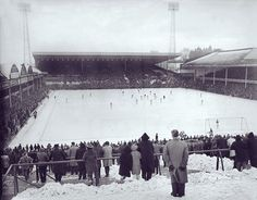 Inch Print (other products available) - Playing in the snow: <br>View of Aston Villa Football club& Villa Park football ground December 1963 <br>Football<br>Credit : Colorsport - Image supplied by Colorsport Images - Inch Photograph printed in the UK Villa Park, Aston Villa Fc, Image Foot, Birmingham England, Best Club, Football Stadiums, West Midlands, Great Britain, Poster Size Prints