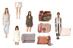 """fashion and style"" by justinallison ❤ liked on Polyvore featuring Eberjey, dRA, Alessandra Mackenzie, BB Dakota, Wayf, Paula Cademartori and Kate Spade"