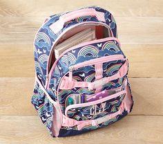 Mackenzie Lavender Pretty Butterfly Backpack | Pottery Barn Kids