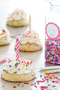 Birthday cake cookie recipe from scratch