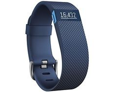 Fitbit Charge HR Heart Rate and Activity Wristband - Blue, Small